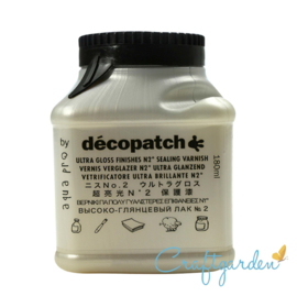 Decopatch - Vernis  -  Aqua pro - ultra gloss - 180g
