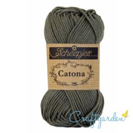 Scheepjes Catona - dark olive  - 387  -  50 gram