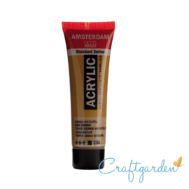 Amsterdam - All Acrylics - 20 ml - Sienna naturel - 234