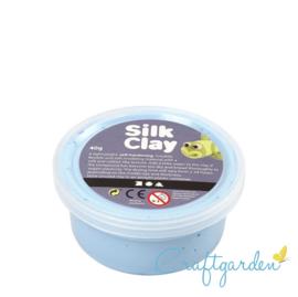 Silk Clay - Basis kleur - Licht Blauw - 40 gram