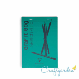 Clairefontaine - Graf it - 90 gram - schetsboek - A5