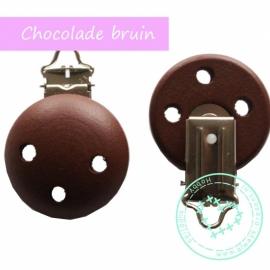 Speenclip chocolade bruin