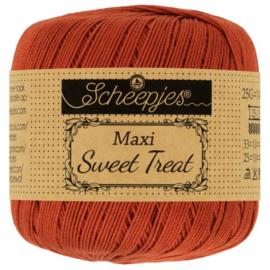 Scheepjes - maxi sweet treat - katoen - 25 gram -  rust -388
