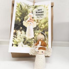 Haakpakket - engel- kerst-hanger