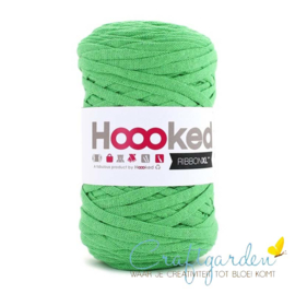 Hoooked-RIBBONXL-250 gram -salade green