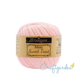 Scheepjes - maxi sweet treat - katoen - 25 gram -  Powder Pink - 238