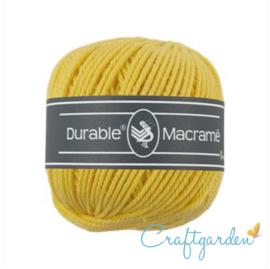Durable - macramé - helder geel - 2180