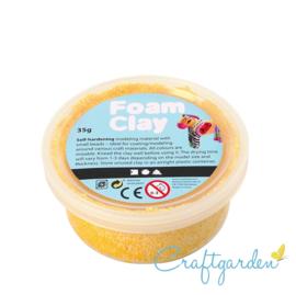 Foam Clay - Basis kleur - geel - 35 gram