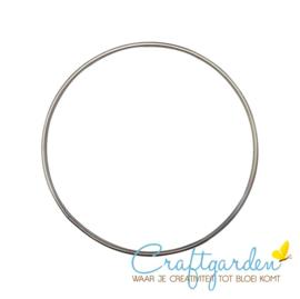 Metalen ring - doorsnede - 25 cm - 1 stuk