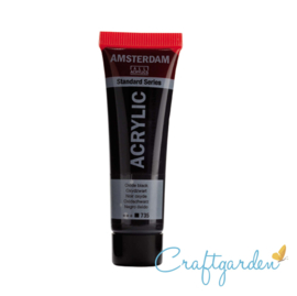 Amsterdam - All Acrylics - 20 ml - Oxyd zwart - 735