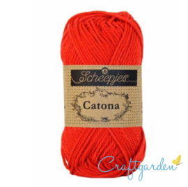Scheepjes Catona -  hot red - 115 -  50 gram