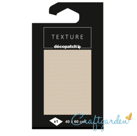 Decopatch - papier - textuur - chevron - 780