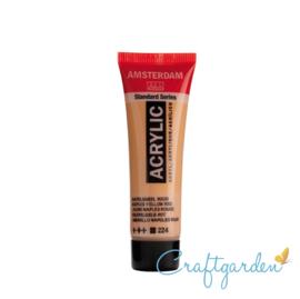 Amsterdam - All Acrylics - 20 ml - Napelsgeel  - Rood - 224