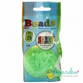 Strijkkralen - Nabbi - kleur - Neon groen - 25