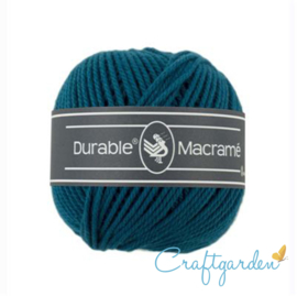 Durable - macramé - petrol - 375