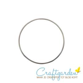 Metalen ring - doorsnede - 8 cm - 1 stuk