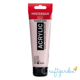Amsterdam - All Acrylics - 120 ml - lichtroze - 361