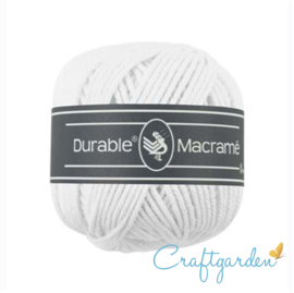 Durable - macramé - wit - 310