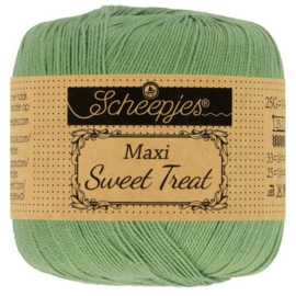 Scheepjes - maxi sweet treat - katoen - 25 gram -  Sage Green- 212
