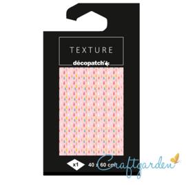 Decopatch - papier - textuur - druppels - 784