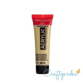 Amsterdam - All Acrylics - 20 ml - Napelsgeel  - Donker - 223