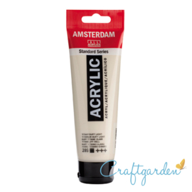 Amsterdam - All Acrylics - 120 ml - titaanbuff- licht - 289