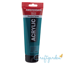 Amsterdam - All Acrylics - 120 ml - phtalogroen - 675