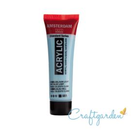 Amsterdam - All Acrylics - 20 ml - Hemels blauw licht - 551