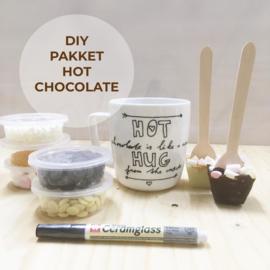DIY Pakket- hot chocolate