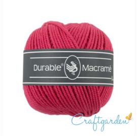 Durable - macramé - fuchsia roze - 236