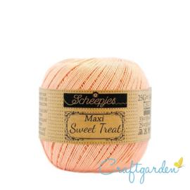 Scheepjes - maxi sweet treat - katoen - 25 gram -  Pale Peach - 523