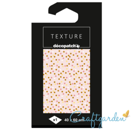 Decopatch - papier - textuur - stipjes - 782