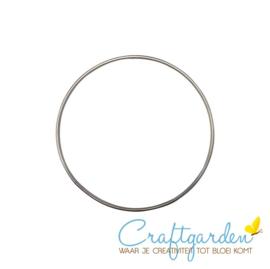 Metalen ring - doorsnede - 10 cm - 1 stuk
