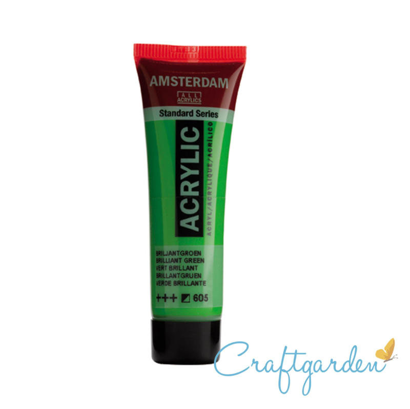 Amsterdam - All Acrylics - 20 ml - Briljant groen - 605