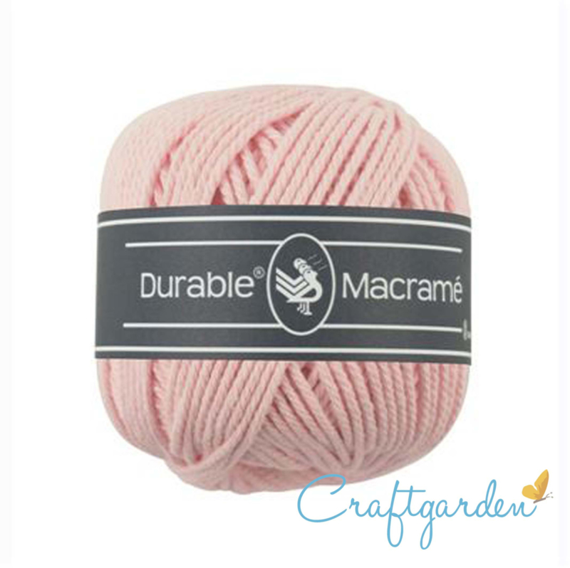 Durable - macramé - licht roze - 203