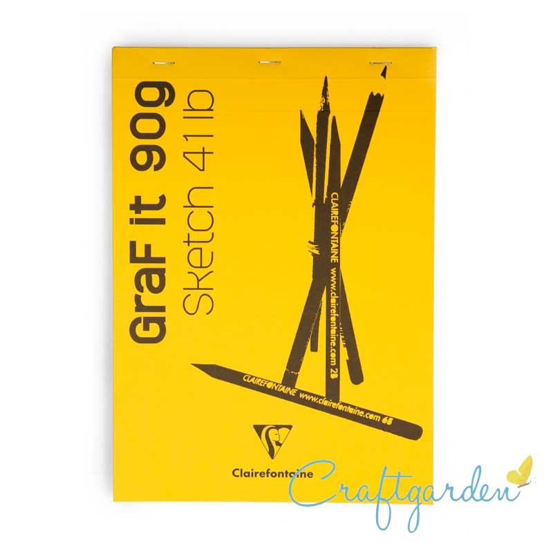 Clairefontaine - Graf it - 90 gram - schetsboek - A4