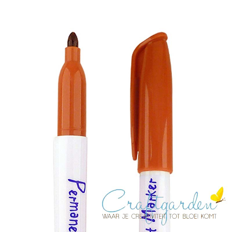 Krimpie-dinkie-permanent-marker-bruin