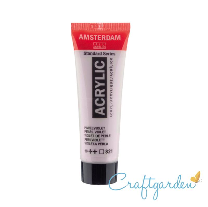 Amsterdam - All Acrylics - 20 ml - Parel violet - 821