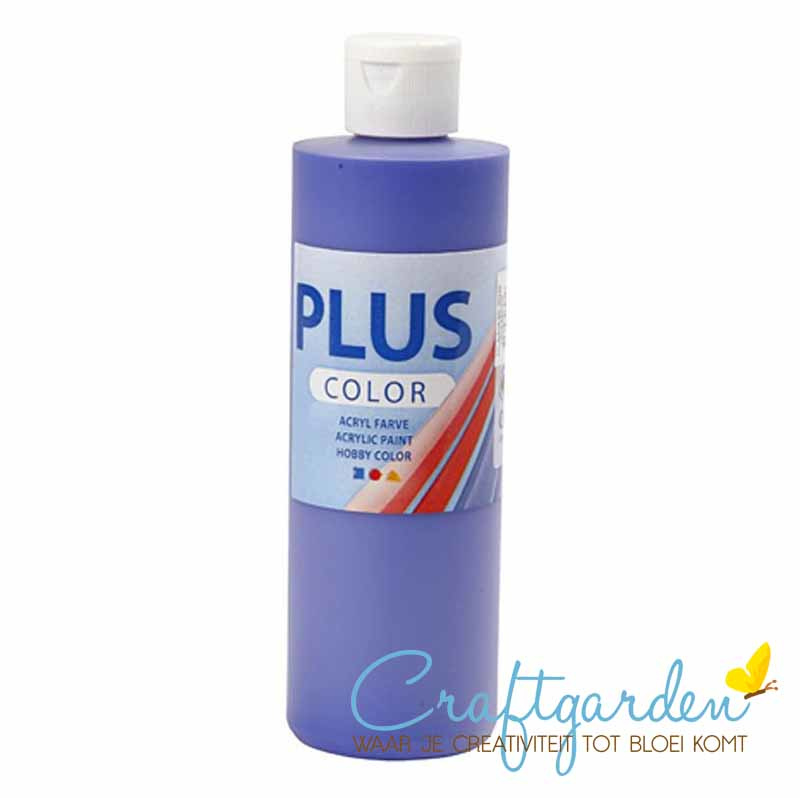 Plus color - acryl - Verf - 250 ml - Ultra Marine