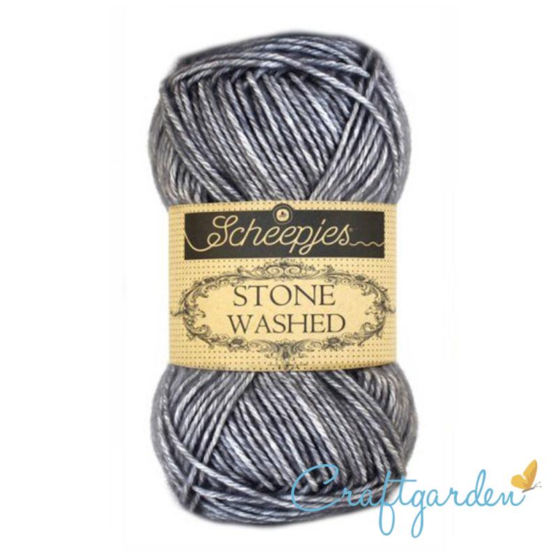 Scheepjes - Stone washed - garen - Smokey Quartz - 802