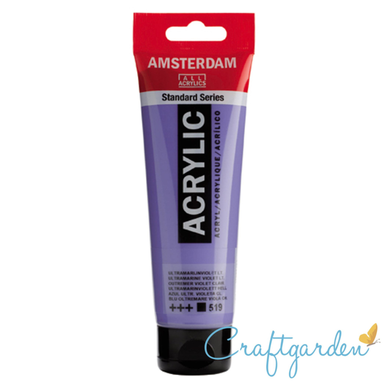 Amsterdam - All Acrylics - 120 ml - ultramarijnviolet - LT - 519