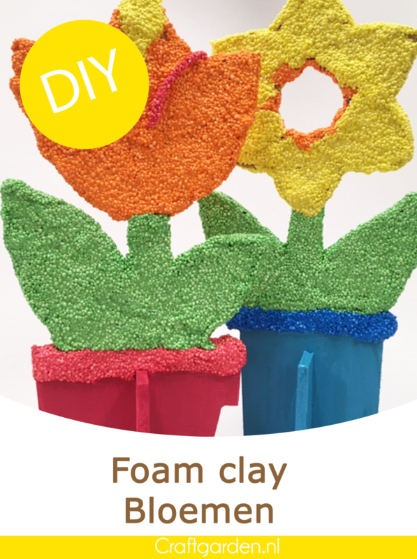 DIY-Foam clay-bloemen-pakket
