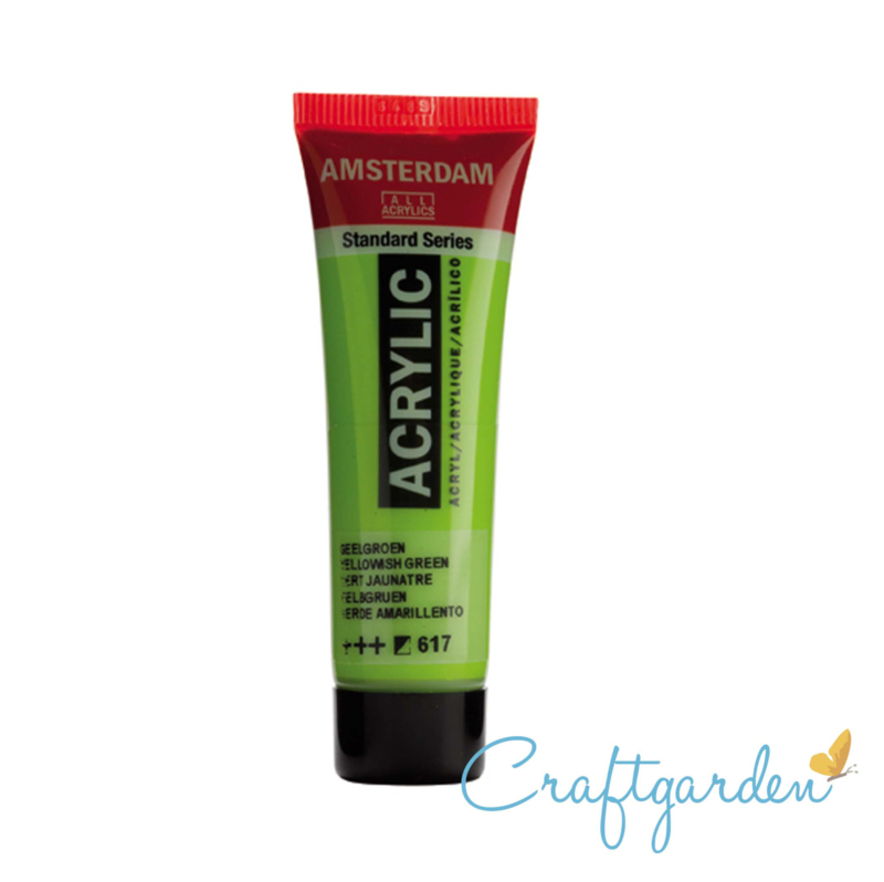 Amsterdam - All Acrylics - 20 ml - Geel groen - 617
