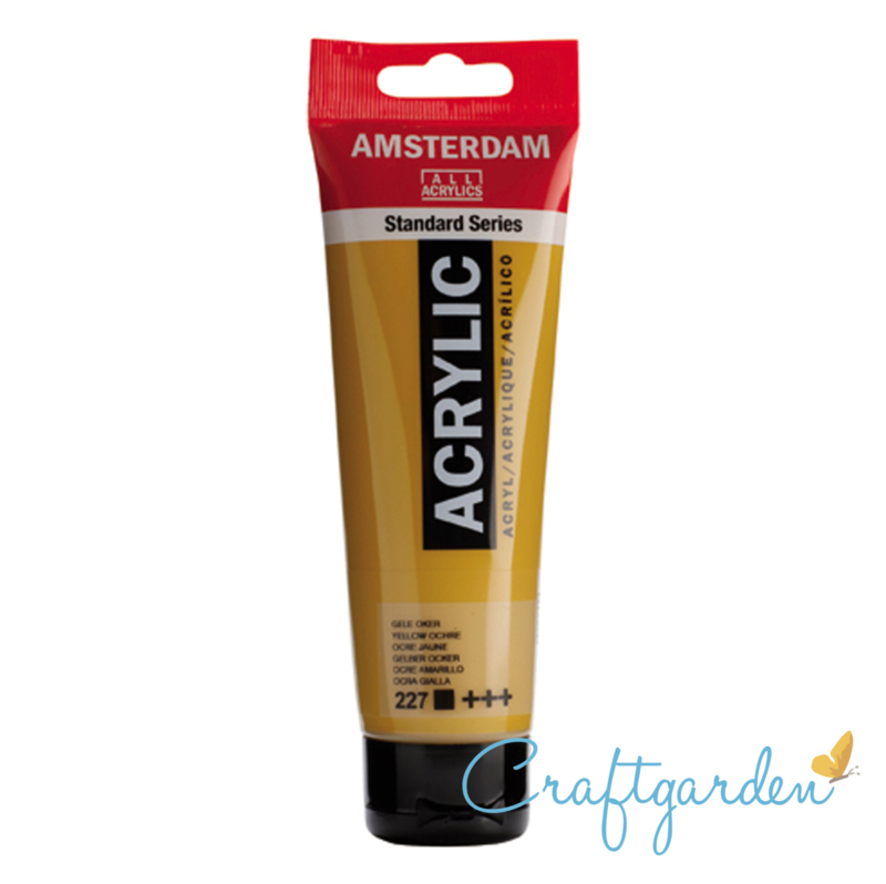 Amsterdam - All Acrylics - 120 ml - gele oker - 227