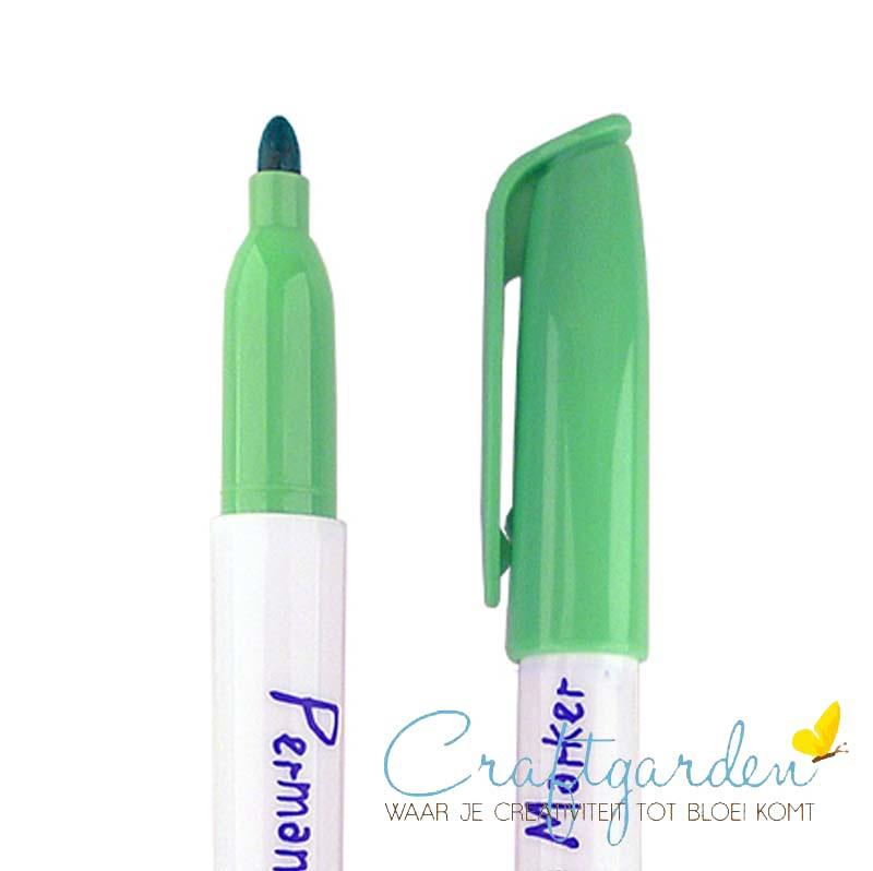 Krimpie-dinkie-permanent-marker-licht groen