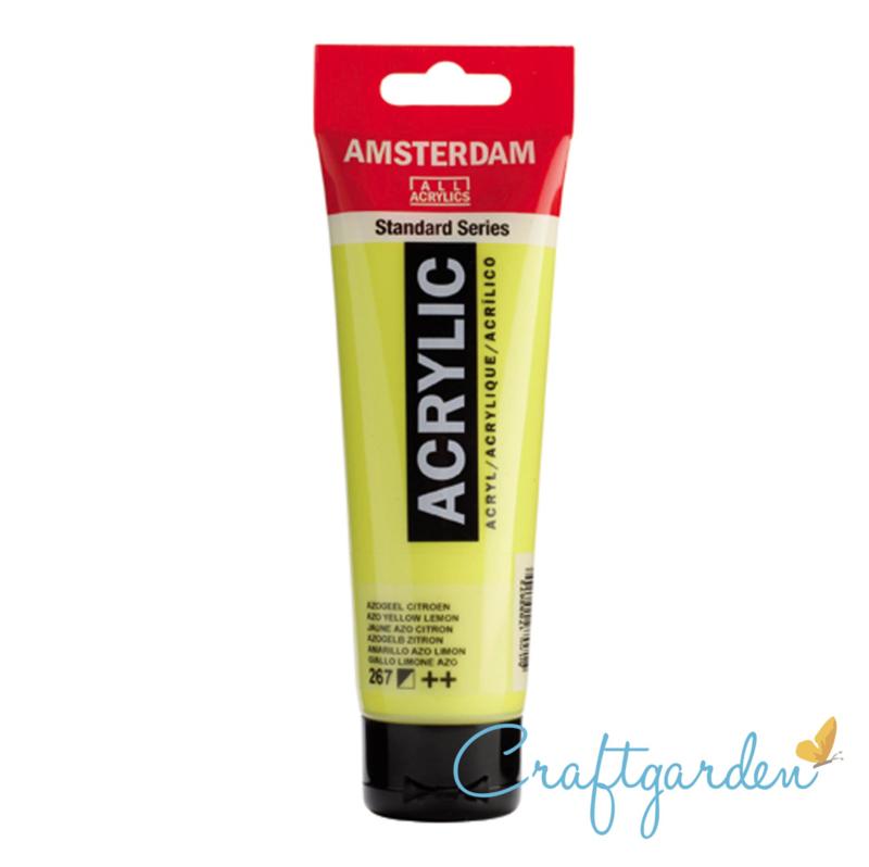 Amsterdam - All Acrylics - 120 ml - azogeel - citroen - 267