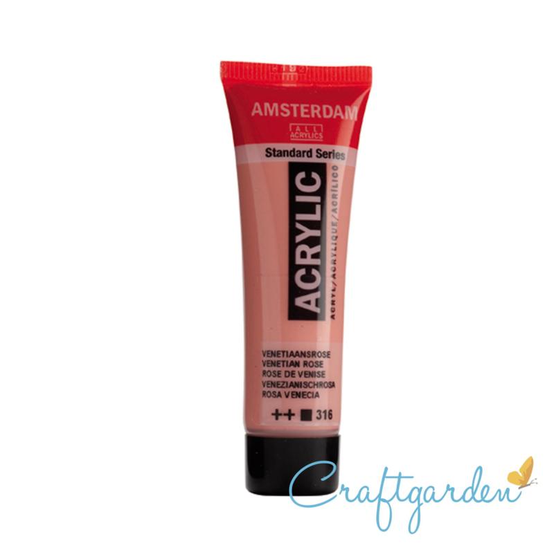Amsterdam - All Acrylics - 20 ml - venetiaansroze - 316