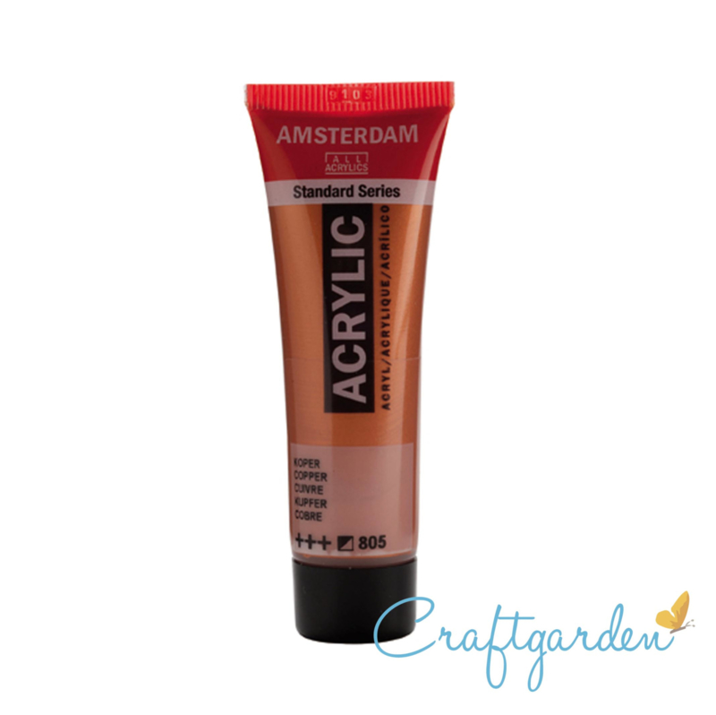 Amsterdam - All Acrylics - 20 ml - Koper - 805
