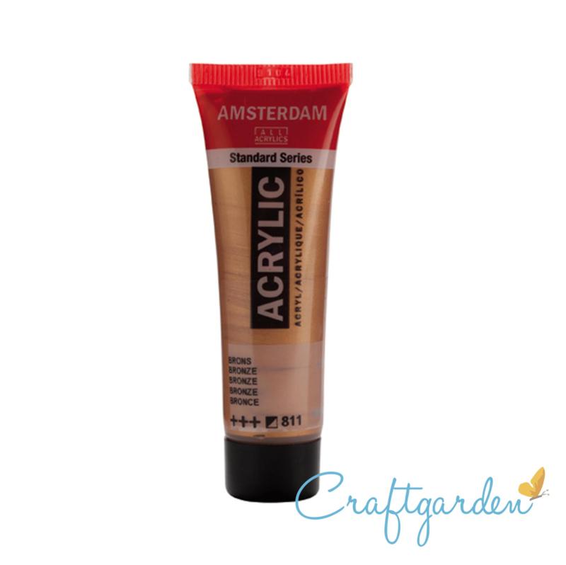 Amsterdam - All Acrylics - 20 ml - Brons - 811