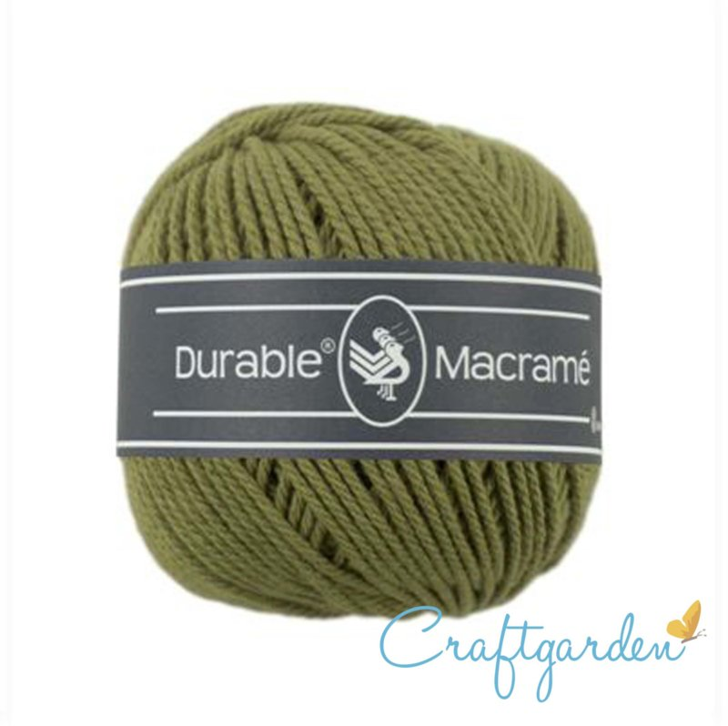 Durable - macramé - khaki - 2168